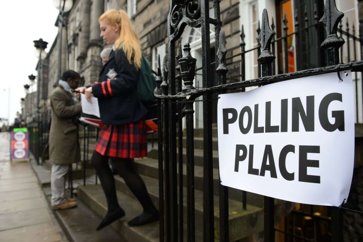 Youth Polling Place Scotland