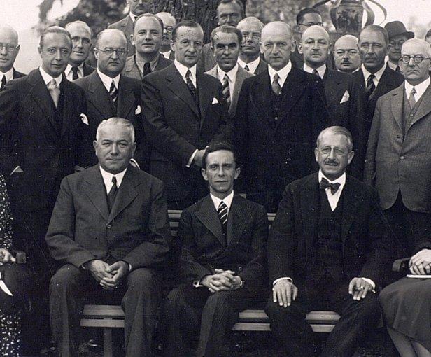 Goebbels at Geneva