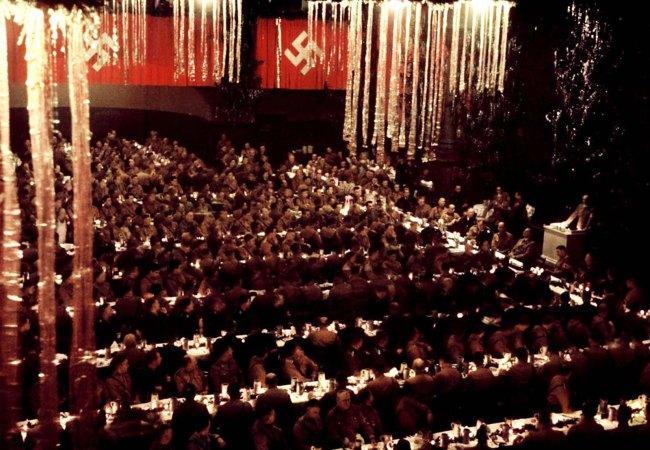 Nazi Xmas party 1941